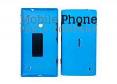 Genuine Nokia Lumia 520 Battery Back Cover Blue - Part No: 02502Z9